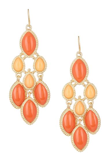 Bijuterii Femei Natasha Accessories Chandelier Earrings ORANGE