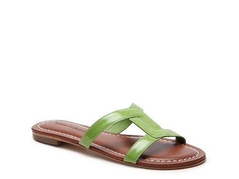 Incaltaminte Femei Bernardo Whitney Flat Sandal Lime Green