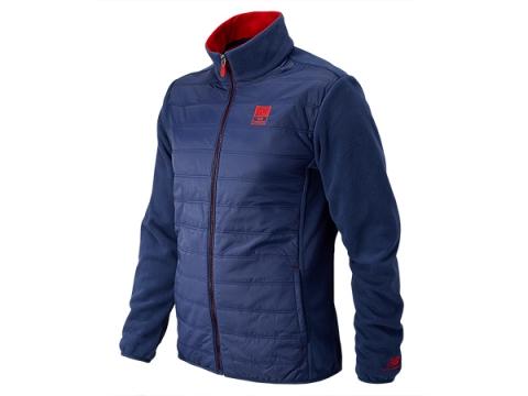 Imbracaminte Barbati New Balance NB996 Fleece Lined Jacket Navy with Embers