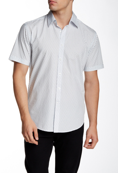 Imbracaminte Barbati James Campbell Hernandez Short Sleeve Woven Shirt NAVY