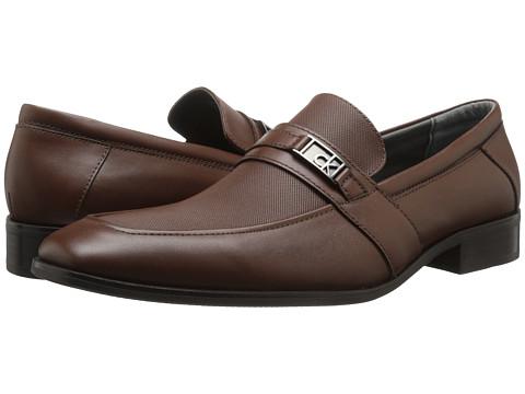 Incaltaminte Barbati Calvin Klein Galvin Brown Smooth Leather
