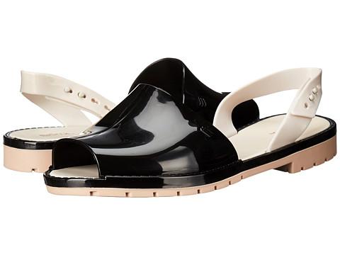 Incaltaminte Femei Melissa Shoes Melissa Espardena BlackBeige