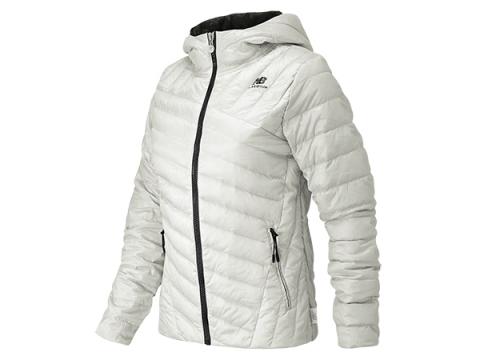 Imbracaminte Femei New Balance Ultra Light Down Jacket White