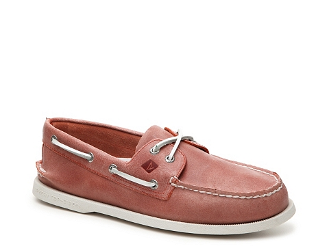 Incaltaminte Barbati Sperry Top-Sider AO White Cap Boat Shoe Orange