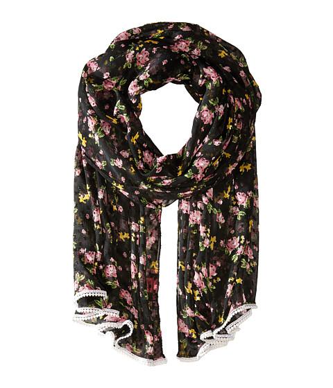 Accesorii Femei Betsey Johnson Flower Bomb Wrap Black