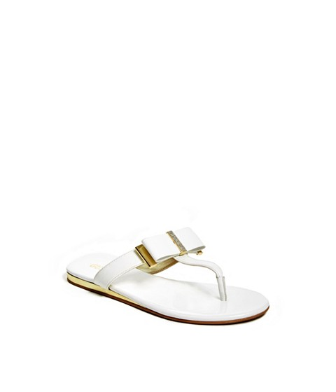 Incaltaminte Femei GUESS Anisha Bow Sandals white