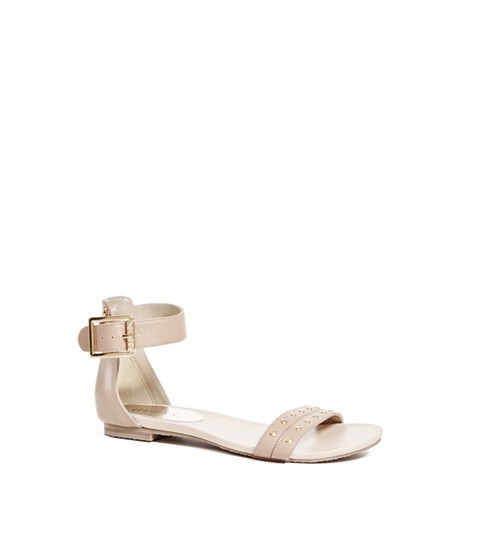 Incaltaminte Femei GUESS Kami Two-Piece Sandals tan