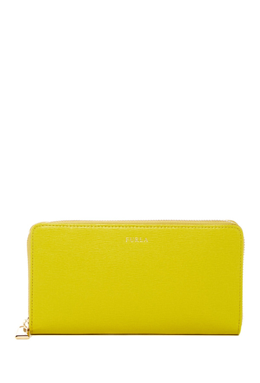 Accesorii Femei Furla Classic XL Zip-Around Leather Wallet JADE