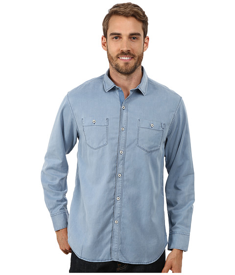 Imbracaminte Barbati Tommy Bahama Sea Twill Solid Long Sleeve Denimblau