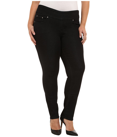 Imbracaminte Femei Jag Jeans Plus Size Nora Pull On Narrow Jeans in Black Rinse Black Rinse