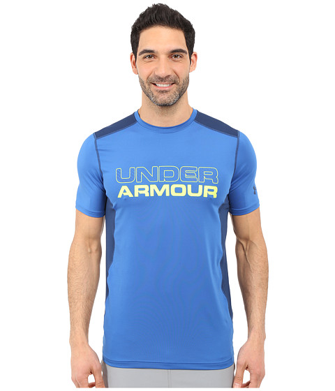 Imbracaminte Barbati Under Armour UA Raid Graphic Short Sleeve Top SquadronBlackout NavyBlackout Navy