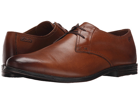 Incaltaminte Barbati Clarks Hawkley Walk Tan Leather