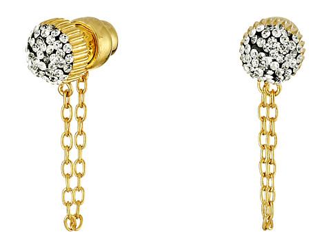Bijuterii Femei Marc by Marc Jacobs Pave Cabochon Chain Stud Earrings Black Multi