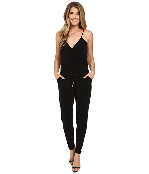 Imbracaminte Femei MICHAEL Michael Kors Seamed Matte Jersey Jumpsuit Black