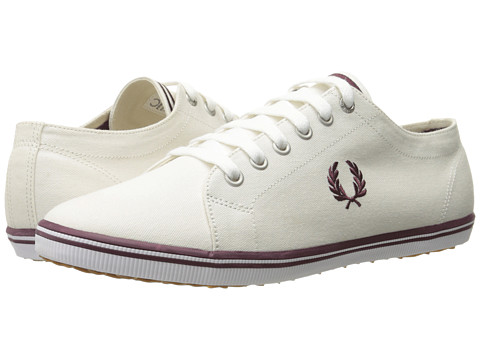 Incaltaminte Barbati Fred Perry Kingston Twill PorcelainOxblood