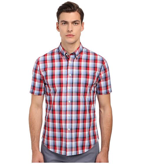 Imbracaminte Barbati Jack Spade Rayford Plaid Short Sleeve Shirt Red