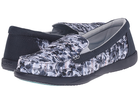 Incaltaminte Femei Crocs Walu II Striped Floral Loafer MultiNavy
