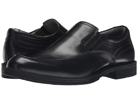 Incaltaminte Barbati Florsheim Mogul Moc Toe Slip-On Black Smooth