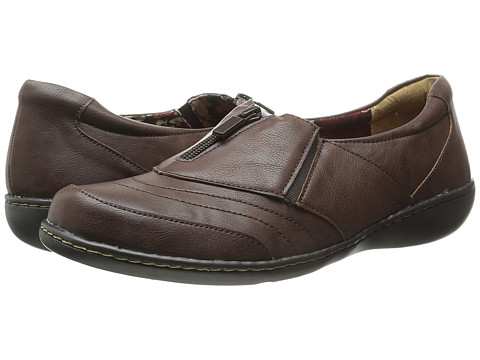 Incaltaminte Femei Soft Style Jennica Dark Brown Tumbled Leather