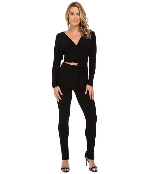 Imbracaminte Femei KAMALIKULTURE Dolman Wrap Jumpsuit Black