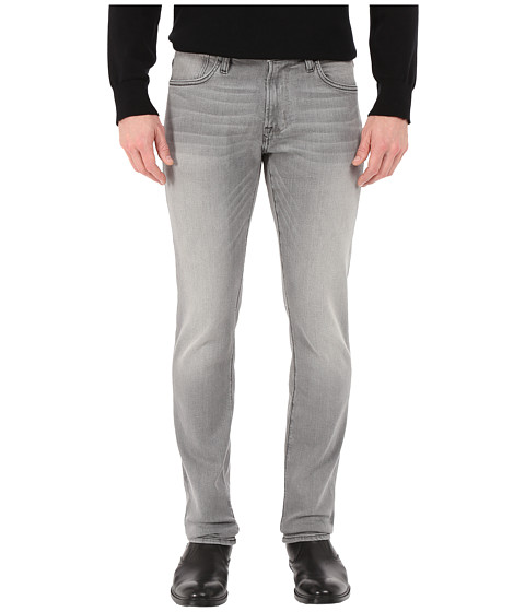 Imbracaminte Barbati John Varvatos Bowery Fit Jeans with Zip Fly in Elephant J306R4B Elephant