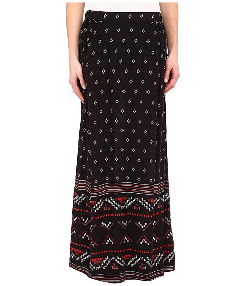 Imbracaminte Femei Roxy Solida Maxi Skirt Big Gypsy Border Print Solida Dark Midnight