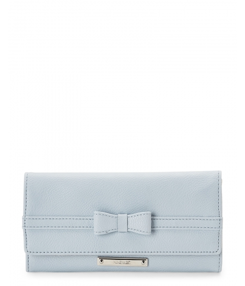 Genti Femei Nine West Chambray Tie A Bow Flap Wallet Chambray