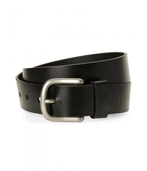 Accesorii Barbati Levi's Black Logo Embossed Belt Black