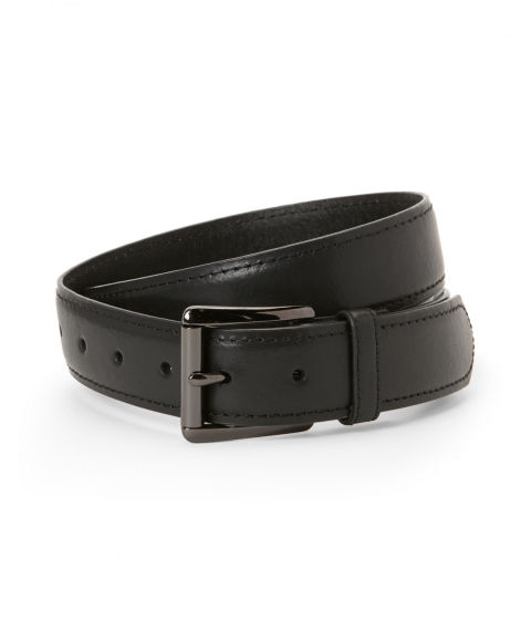 Accesorii Barbati Kenneth Cole Reaction Black Leather Belt Black