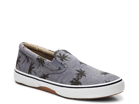Incaltaminte Barbati Sperry Top-Sider Halyard Printed Slip-On Sneaker Grey