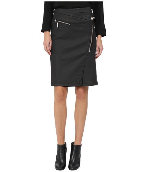 Imbracaminte Femei LOVE Moschino Asymmetrical Zip Skirt Black
