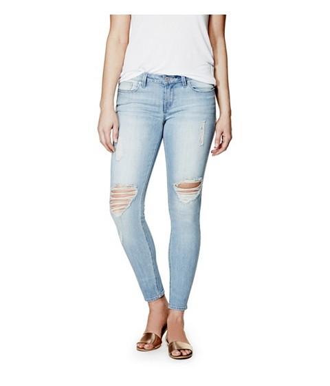 Imbracaminte Femei GUESS Esraine Destructed Skinny Jeans light destroy wash