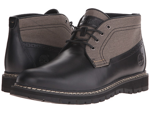 Incaltaminte Barbati Timberland Britton Hill Chukka Black Full-GrainWax Canvas