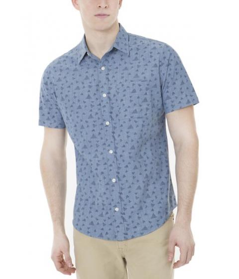 Imbracaminte Barbati US Polo Assn Slim Fit Slub Dot Canvas Shirt Pale Blue