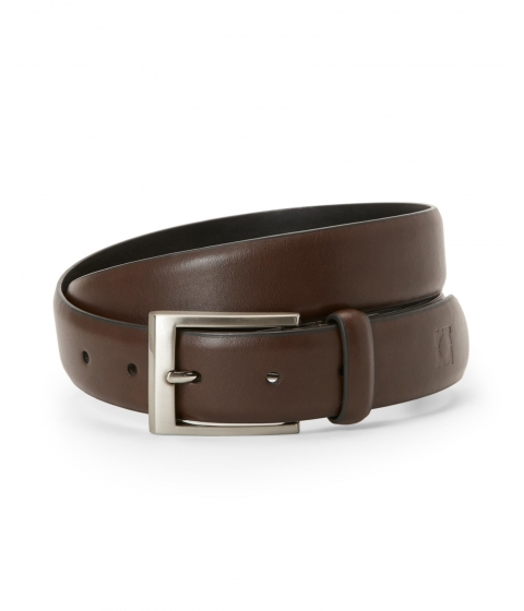 Accesorii Barbati Kenneth Cole Reaction Logo Stamped Belt Brown