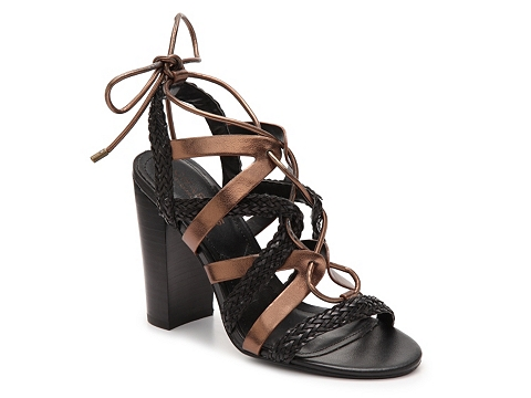 Incaltaminte Femei Charles David Greensboro Sandal BlackBronze