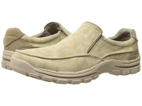 Incaltaminte Barbati SKECHERS Relaxed Fit Braver - Randon Khaki