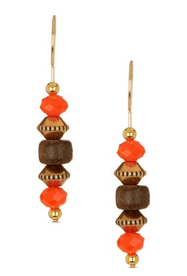 Bijuterii Femei Alex and Ani Tidepool Beaded Drop Earrings GOLD