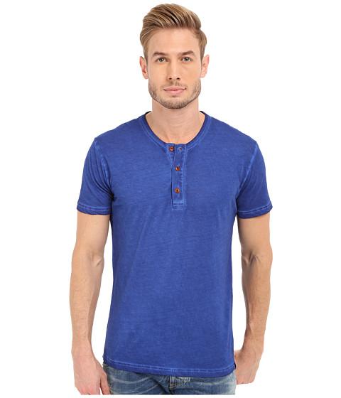 Imbracaminte Barbati Lucky Brand Short Sleeve Henley Sodalite Blue