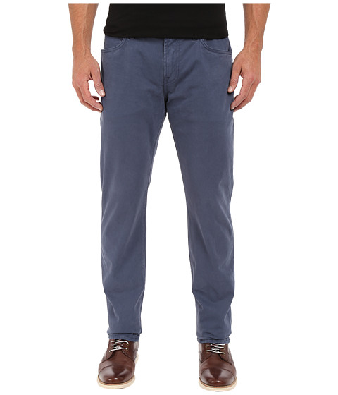 Imbracaminte Barbati 7 For All Mankind The Straight-Luxe Performance Sateen in Slate Blue Slate Blue