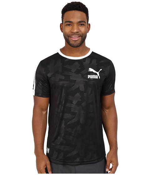 Imbracaminte Barbati PUMA Short Sleeve Ball Jersey BlackWhite