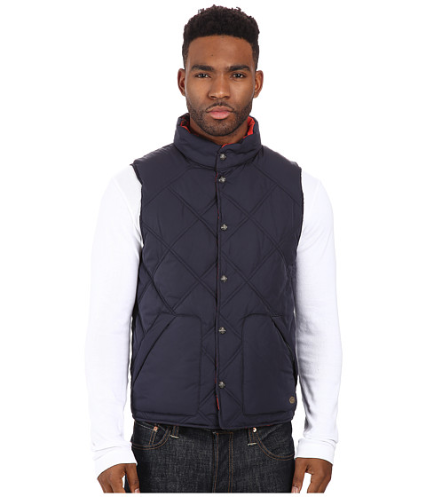 Imbracaminte Barbati Scotch Soda Reversible Diamond Quilted Vest Night