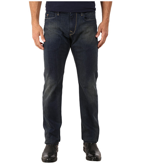 Imbracaminte Barbati Robert Graham Snap Back Woven Denim Slim Fit Jeans in Indigo Indigo