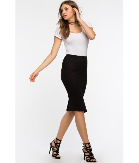 Imbracaminte Femei CheapChic 90s Babe Midi Skirt Black