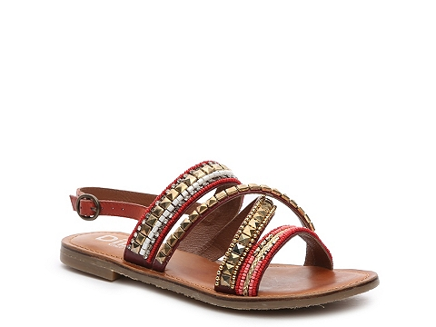 Incaltaminte Femei Diba Tango Flat Sandal Red Multi