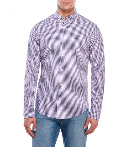 Imbracaminte Barbati Original Penguin Slim Fit Gingham Shirt Purple