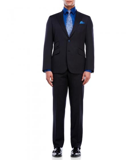 Imbracaminte Barbati Robert Graham Navy Pinstripe Suit Navy