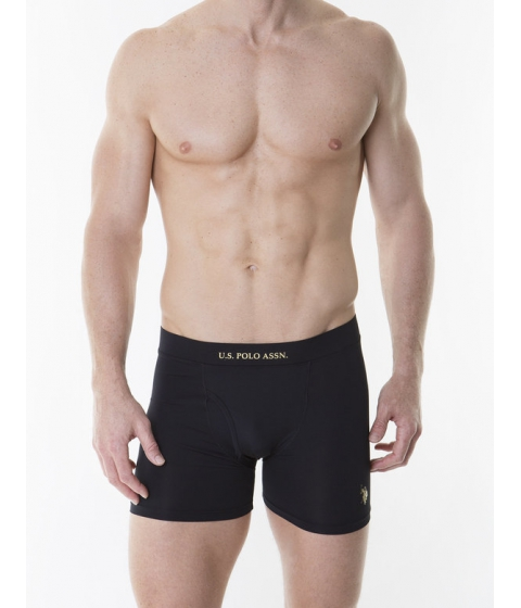 Imbracaminte Barbati US Polo Assn stretch jersey boxer brief Black