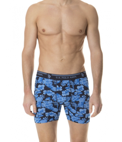 Imbracaminte Barbati US Polo Assn Boxer Brief BLUE COAST