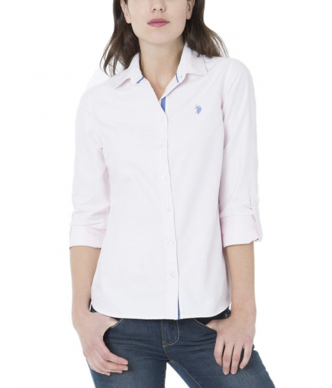 Imbracaminte Femei US Polo Assn CLASSIC SOLID WOVEN Classic Pink